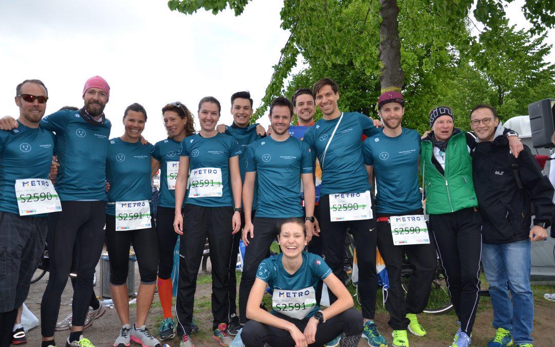 Triathlon Team Düsseldorf mit 3 Staffeln erfolgreich beim Metro Marathon